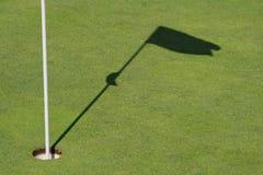 Ombres de golf Images libres de droits