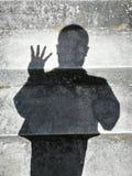 Ombres de personnes Image stock