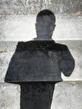 Ombres de personnes Images libres de droits