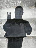 Ombres de personnes Photo libre de droits