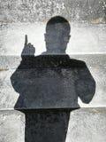 Ombres de personnes Photos libres de droits