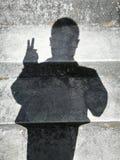 Ombres de personnes Photos stock