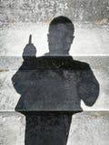 Ombres de personnes Photographie stock