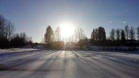 Ombres de Sun photo libre de droits