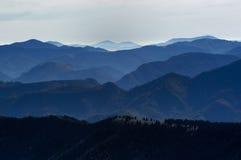 Ombres des montagnes no.1 Image stock