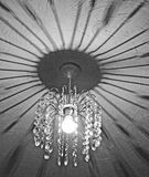 Ombres en cristal de lustre Photographie stock libre de droits