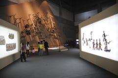 Ombres en cuir chinoises (21èmes UNIMA) Image libre de droits