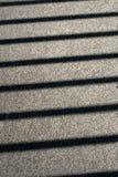 Ombres linéaires. Photographie stock