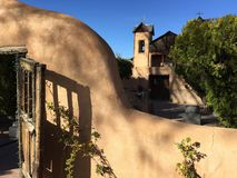 Ombres sur Chimayo Images stock