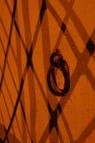 Ombres sur le mur Images libres de droits