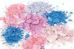 Ombretti sbriciolati Multicoloured Immagine Stock