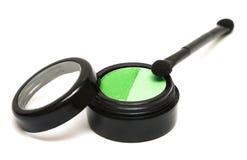 Ombretti verdi di trucco Immagine Stock