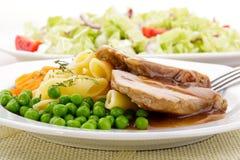 Ombro de carne de porco Roasted Imagem de Stock Royalty Free