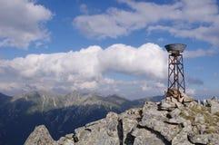 Ombrometer in Rila mountain, Bulgaria Royalty Free Stock Photography