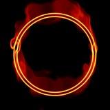 Omcirkelende energiestromen Stock Fotografie