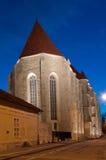 Omdana-kalvinist kyrka av Cluj, Rumänien Royaltyfri Bild