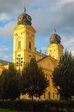 Omdanad kyrka - Debrecen, Ungern Fotografering för Bildbyråer
