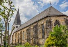 Omdanad kyrka i mitten av Lingen royaltyfria foton