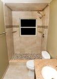 Omdanat badrum royaltyfri bild