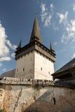 Omdanat kyrkligt torn Arkivbild