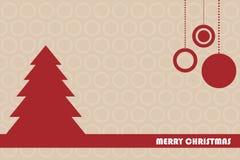 χαιρετισμός Χριστουγένν&ome Στοκ Εικόνες