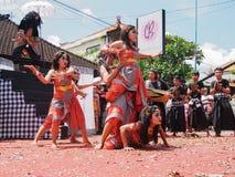 Omed Omedan Bali Fotografie Stock