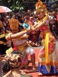 Omed-omedan festival arkivbild