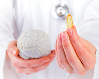 Omega 3 capsule Royalty Free Stock Photography