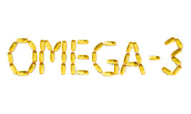 Omega-3 Photographie stock