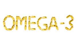Omega-3 Fotografía de archivo