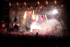 Omega auf dem Volt-Festival Lizenzfreie Stockbilder