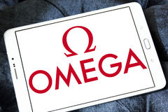 Omega logo Royalty Free Stock Photos