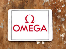 Omega logo Royalty Free Stock Image