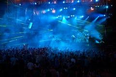 Omega op het Festival van de Volt - Stadium Stock Foto