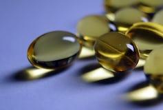 Omega pillen Stock Afbeeldingen