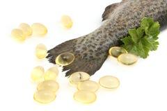 omega pills royaltyfri foto
