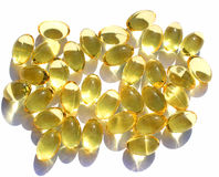 Omega 3 pills Royalty Free Stock Image