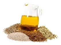 Omega 3 poissons - nutrition saine image stock