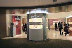 Omega shop in Hong Kong Royalty Free Stock Images