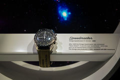 Omega Speedmaster that used in NASA Mission Stock Photo