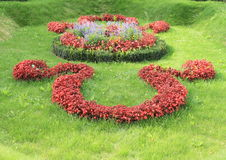 Omega tuin stock afbeelding