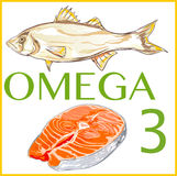 Omega 3 Stock Photos