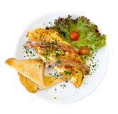 Omelet Royalty Free Stock Photo