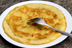 omelet Foto de Stock Royalty Free