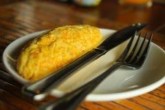Omelet stock foto's