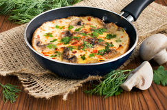 omelet Foto de Stock