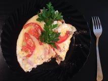 omelet Fotografía de archivo
