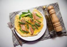 omelet fotografia de stock royalty free