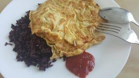 omelet Imagen de archivo libre de regalías