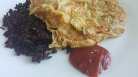 omelet Imágenes de archivo libres de regalías